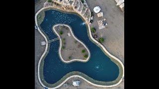Красивый пруд для форели