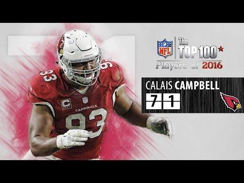 #71: Calais Campbell (DE, Cardinals) | Top 100 NFL Players of 2016