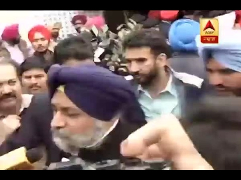 Punjab Polls:  CM Parkash Singh Badal, Sukhbir Singh Badal cast their votes