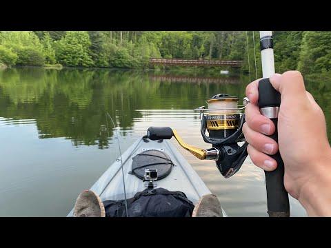 Kayak Fishing A NEW Lake!