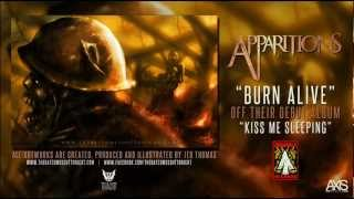 "Apparitions - Burn Alive (ft. artwork by ""The Walking Dead"" artist, Jed Thomas)"