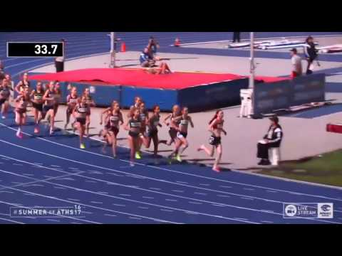 Womens U14 1500m - 2017 Australian Athletics Championships