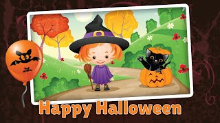 Kids Halloween Jigsaw Puzzle - App gameplay