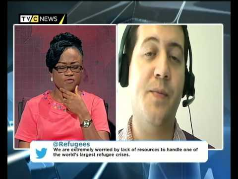 AFRICA TODAY ON SOUTH SUDAN HUMANITARIAN CRISIS WITH ACHIKE CHUDE AND MICHAEL BOYCE