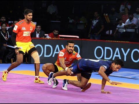 Pro Kabaddi 2018 Highlights | Gujarat FortuneGiants vs Haryana Steelers | Hindi