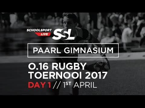 Paarl Gim U16 Rugby Tournament, Day One, 01 April May 2017