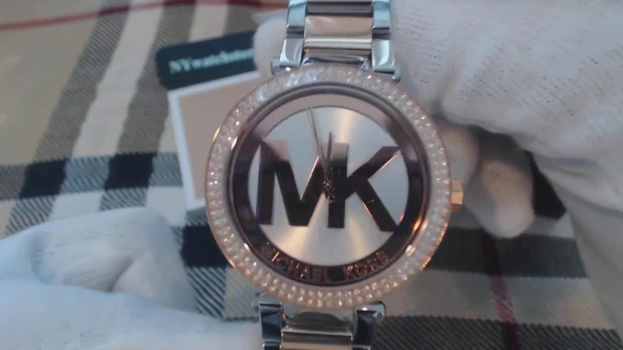 Women's Michael Kors Parker Rose Gold Watch MK6314 YouTube