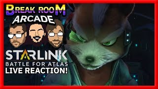 STAR FOX in Starlink: Battle for Atlas LIVE REACTION! | Break Room Arcade