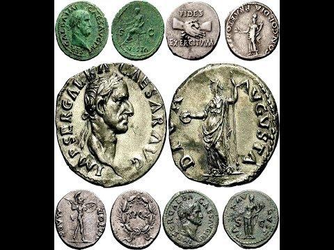 Монеты, Древний Рим, Император Гальба, Часть 2, Coins, Ancient Rome, Emperor Galba