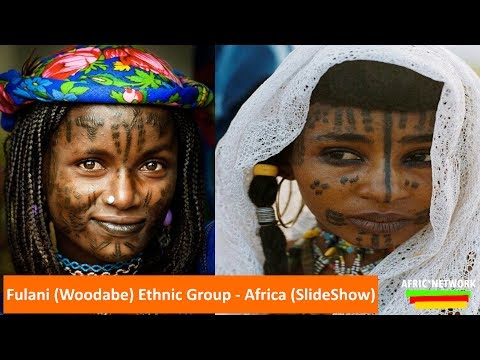 Fulani Women (Woodabe) Ethnic Group - West,Central,North Africa SlideShow