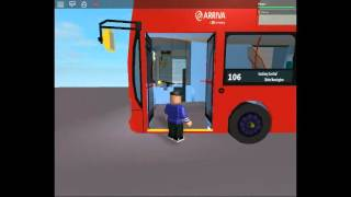 Roblox Wright Pulsar Gemini DAF DB250 Arriva London for Route 254