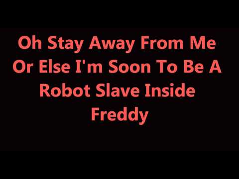 Stay Away From Me A FNAF Parody By NateWantsToBattle