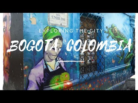 Bogota, Colombia: Travel Day & Walking Tour