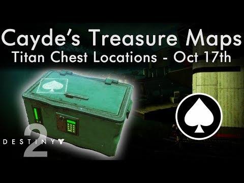 Destiny 2 Caydes Stash Locations - Oct 17th - Titan