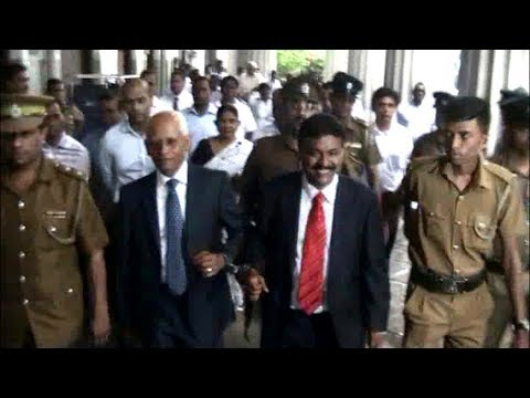 Lalith Weeratunga and Anusha Palpita found guilty