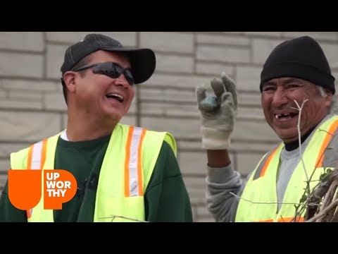 To end panhandling, this city decided to give jobs to the homeless.