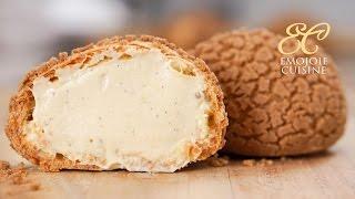 Cream puff ×Speculoos シュークリーム×スペキュロス クッキーシュー thumbnail