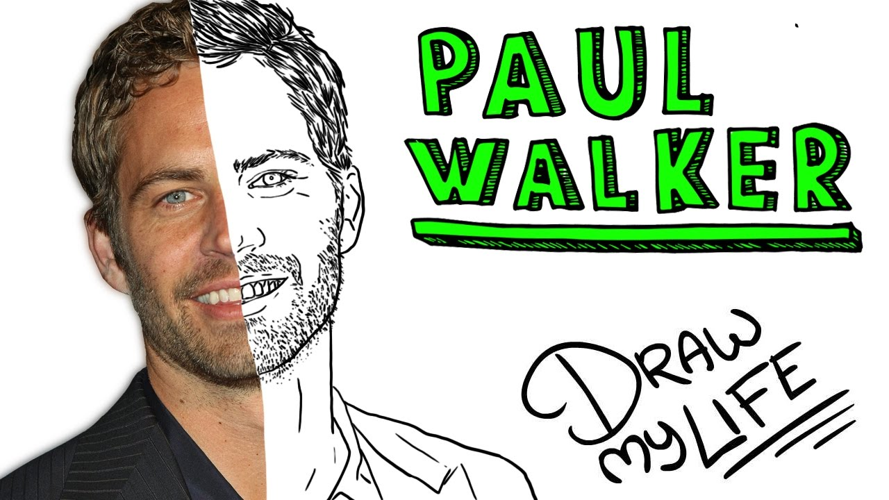 PAUL WALKER | Draw My Life