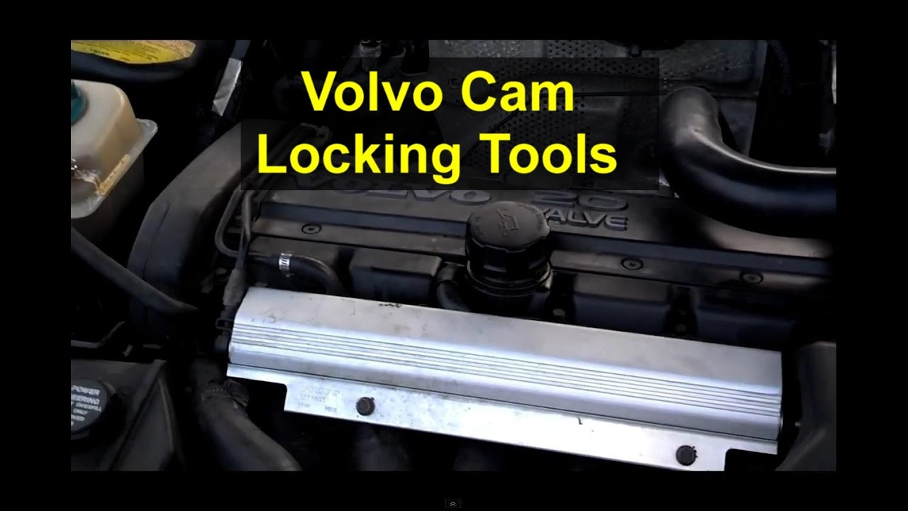 How To Install And Use The Cam Locking Tools Volvo S60 850 S70 S40 Engine Diagram Belt V70 S80 Etc Votd