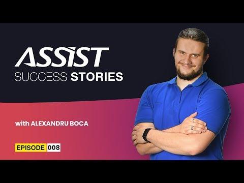Meet the team - Ep. 8   Interviu cu Alexandru Boca - Head of Mobile Development   ASSIST Software