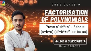 It is a special identity of polynomial of class 9. In this video I ...