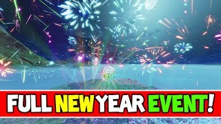 *NEW* Fortnite NEW YEAR EVENT 2019 FULL GAMEPLAY (Disco Ball Countdown Fortnite Battle Royale)