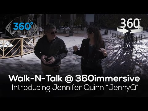 """Download What is 360 Immersive Technology? Introducing Jennifer Quinn """"JennyQ"""""""