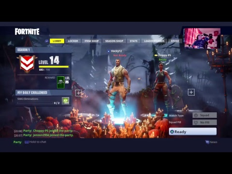 Fortnite | LIVE STREAM with Jamie Bennett