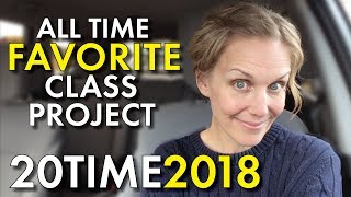 Project-Based Learning, 20Time, Favorite Project for High School English, Teacher Vlog