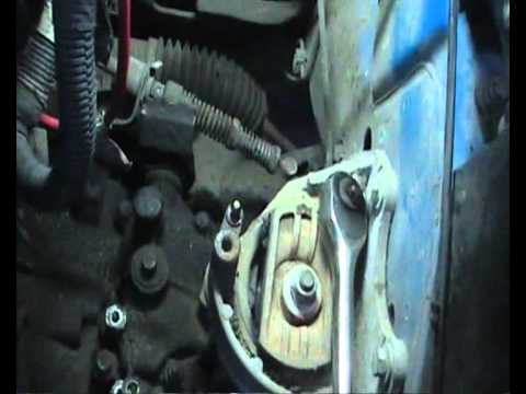 How to remove a gearbox fit clutch on a Fiat Punto 1 3 slx (part 1)