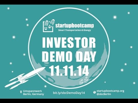 Startup Bootcamp Berlin Investor Demo Day 11.11.2014, Umspannwerk Kreuzberg [Full HD]