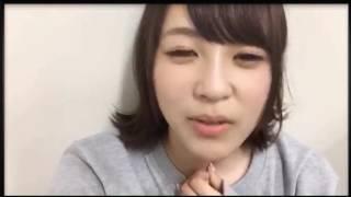 16/06/18 三田麻央ちゃんのSHOWROOMです 途中で途切れてしまいます.