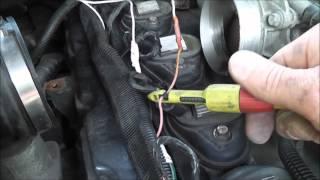 2005 Trailblazer 4.2 #6 cylinder misfire diagnosis (spark and fuel test)