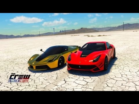 The Crew™ Calling All Units GOLD LaFerrari vs Ferrari f12
