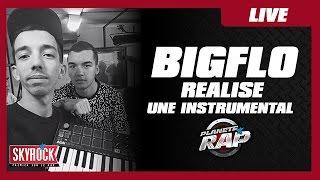 Bigflo réalise une instru en 5mn pour Oli en live dans Planète Rap !