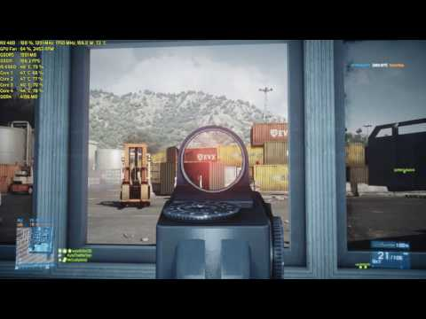 Battlefield 3 Multiplayer | RX 480 and Core i5 6500 Gameplay