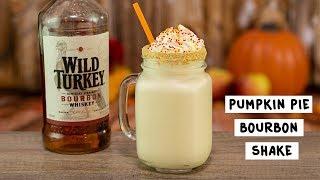 Pumpkin Pie Bourbon Shake