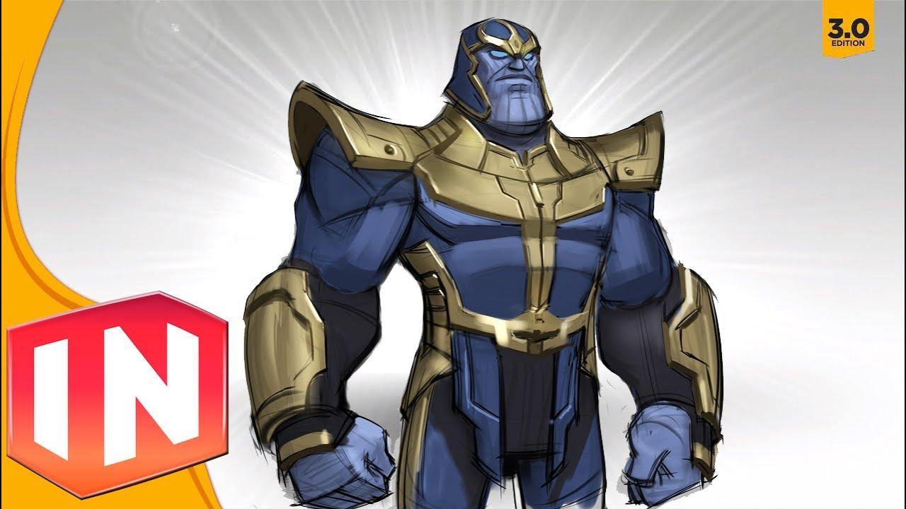 Disney Infinity 3 0 Thanos Concept Art Revealed Youtube