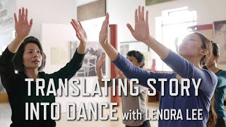 translating story into dance with lenora lee   kqed arts