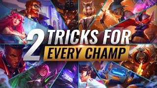 Baixar 2 INSANE TRICKS FOR EVERY CHAMPION in League of Legends - Season 10