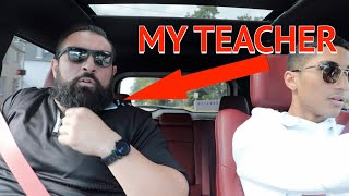 Teacher reacts to my 707hp JEEP TRACKHAWK  **Funny reaction**