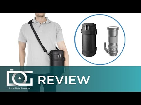 LENS CASE REVIEW | Lens Holster Bag for Large Telephoto Lenses - Deluxe Edition By Altura Photo®