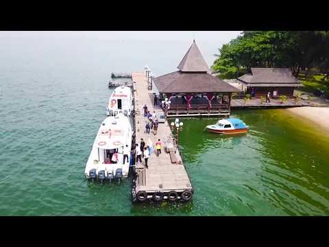 Pemandangan Indah Via Drone Pulau Ayer Kepulauan Seribu