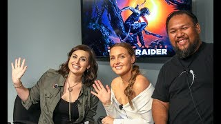 Camilla Luddington & Earl Baylon Shadow of the Tomb Raider Q&A