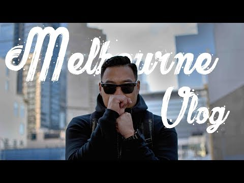 Why Melbourne Is The Best City In The World - Sneaker Shopping Vlog