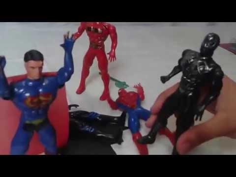 f40a1e7c3  ألعاب أطفال لعبة سبايدر مان و لعبة بات مان. Batman Superman spiderman -  YouTube