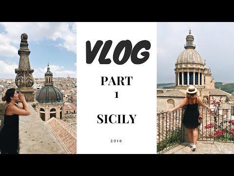 VLOG/ВЛОГ. Путешествие по Сицилии.Страшные катакомбы и дикие пляжи .