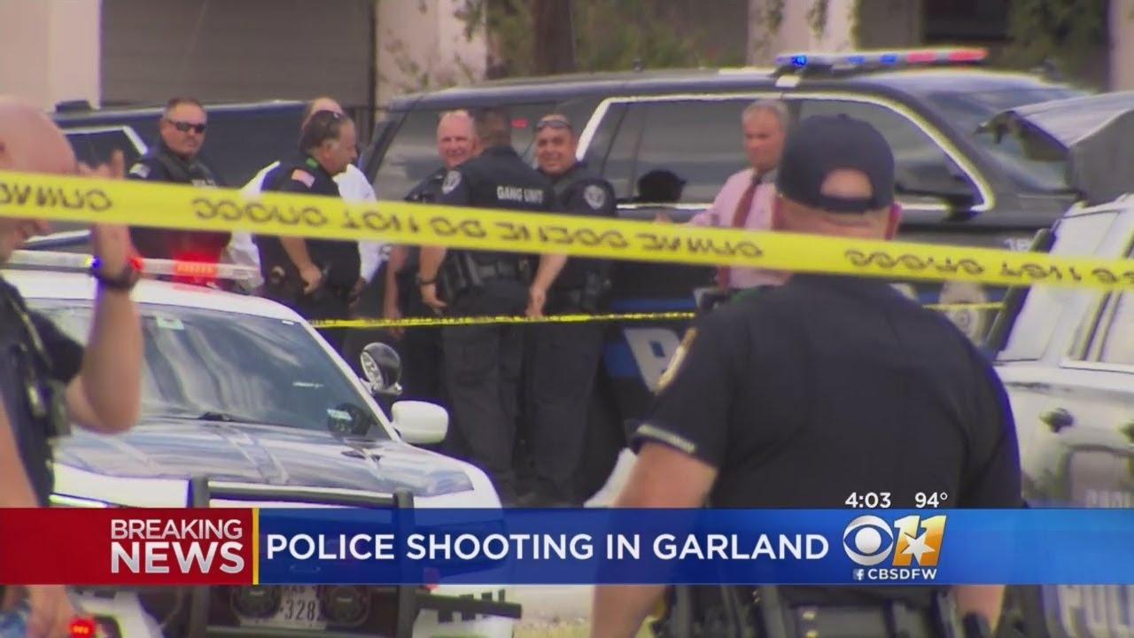 Officer Shoots, Kills Machete-Wielding Suspect In Garland