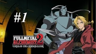 Fullmetal Alchemist 2: Curse of the Crimson Elixir - PS2 Walkthrough 1 Gameplay