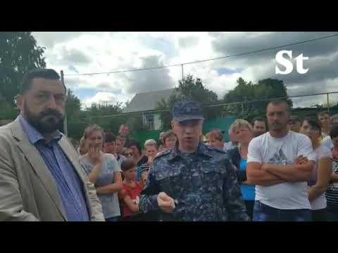 Русско-цыганский конфликт в Чемодановке глазами Telegram